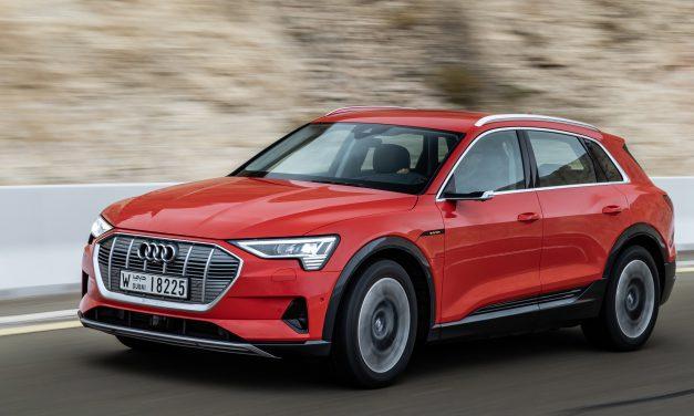 Das Audi-Statement: Der elektrische Riese e-tron