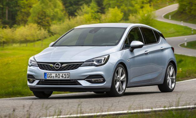Erste Probefahrt im neuen Opel Astra