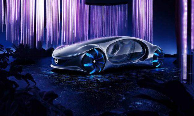 Am Puls der Natur: Mercedes Vision AVTR