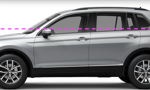 Feindbild SUV: Fetter Tesla und der magere VW Tiguan