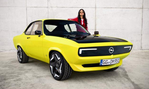 Als E-Auto kehrt der Opel Manta zurück